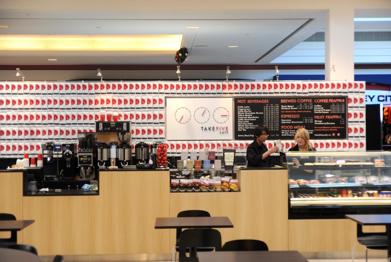 Take Five Café Rebranding